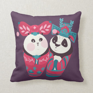 Po Ping and Mei Mei Cushion