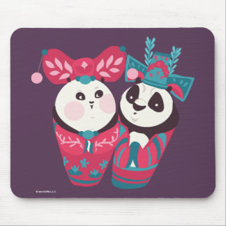 Po Ping and Mei Mei Mouse Mat