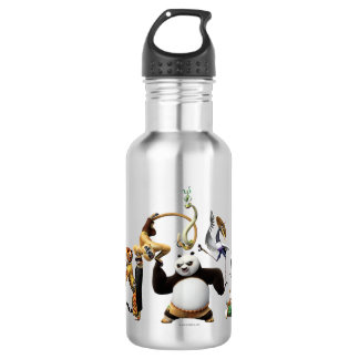 Po Ping and the Furious Five 532 Ml Water Bottle
