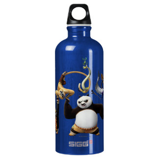 Po Ping and the Furious Five Water Bottle