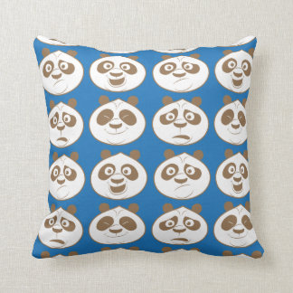 Po Ping Blue Pattern Cushion