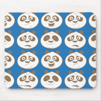 Po Ping Blue Pattern Mouse Mat