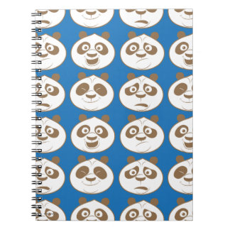 Po Ping Blue Pattern Notebooks