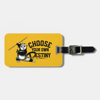 Po Ping - Choose Your Own Destiny Luggage Tag