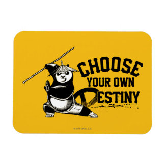 Po Ping - Choose Your Own Destiny Rectangular Photo Magnet