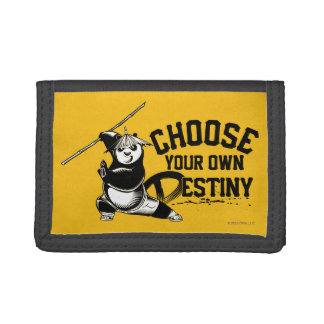 Po Ping - Choose Your Own Destiny Tri-fold Wallets
