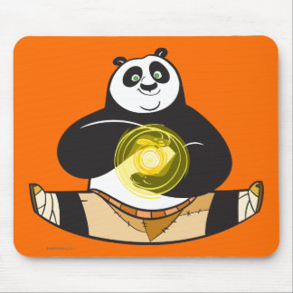 Po Ping Doing the Splits Mouse Mat