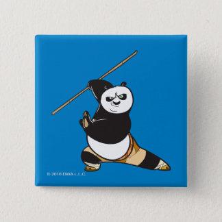 Po Ping Dragon Warrior 15 Cm Square Badge