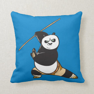 Po Ping Dragon Warrior Cushion