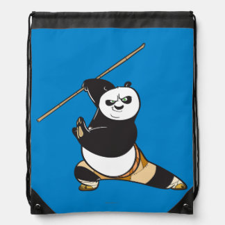 Po Ping Dragon Warrior Drawstring Bag