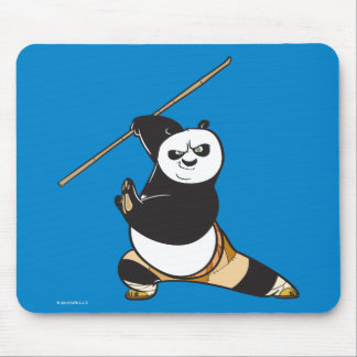 Po Ping Dragon Warrior Mouse Mat