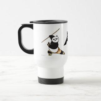 Po Ping Dragon Warrior Stainless Steel Travel Mug