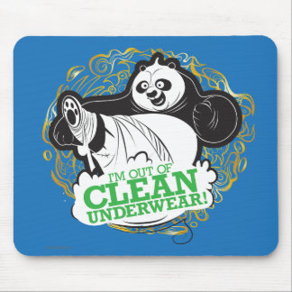 Po Ping - I'm Clean out of Underwear Mouse Mat