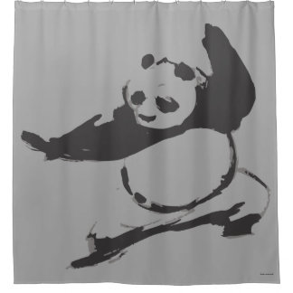 Po Ping - Legendary Dragon Warrior Shower Curtain