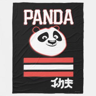Po Ping - Panda Pop Fleece Blanket