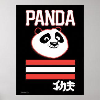 Po Ping - Panda Pop Poster