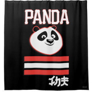 Po Ping - Panda Pop Shower Curtain