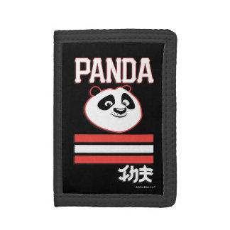 Po Ping - Panda Pop Trifold Wallets