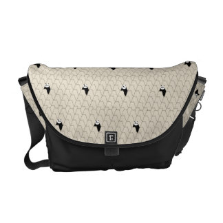 Po Ping Silhouette Pattern Commuter Bag