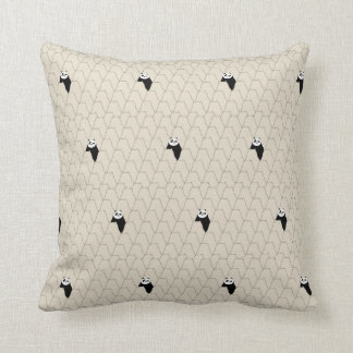 Po Ping Silhouette Pattern Cushion
