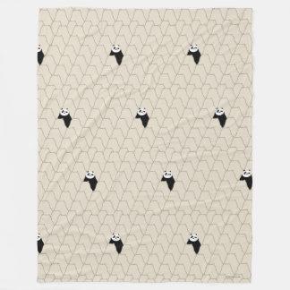 Po Ping Silhouette Pattern Fleece Blanket