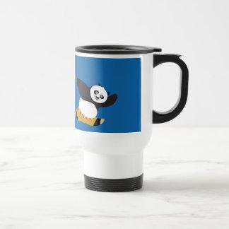 Po Playing with Pandas Stainless Steel Travel Mug