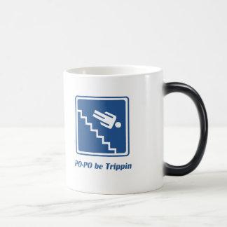 Po-Po be Trippin' Morphing Mug