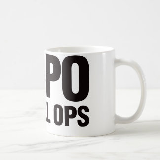 Po-Po Special Ops Basic White Mug