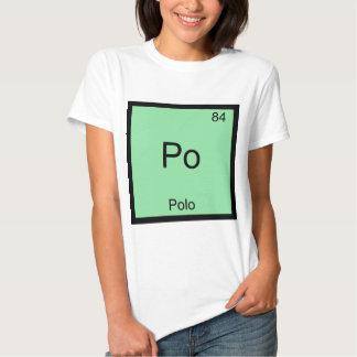 Po - Polo Funny Chemistry Element Symbol T-Shirt