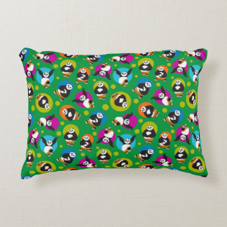 Po Posing Pattern Decorative Cushion