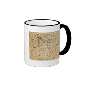 Po River Valley map Coffee Mug