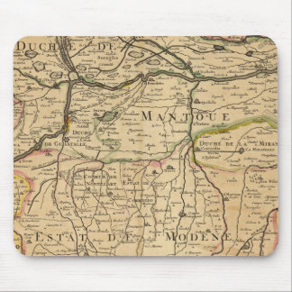 Po River Valley map Mouse Pad