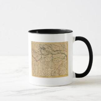 Po River Valley map Mug