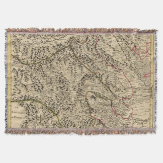 Po River Valley Throw Blanket