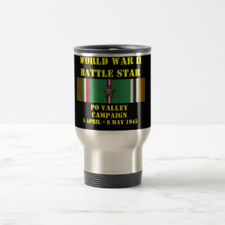 Po Valley Campaign Stainless Steel Travel Mug