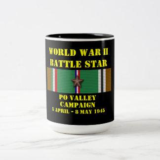 Po Valley Campaign Two-Tone Mug