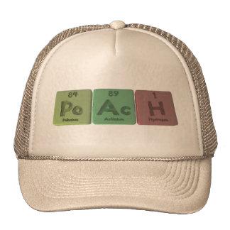 Poach-Po-Ac-H-Polonium-Actinium-Hydrogen.png Trucker Hat