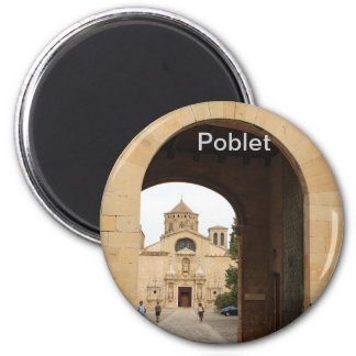 Poblet 6 Cm Round Magnet