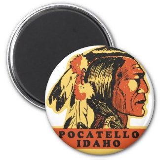 Pocatello Idaho 6 Cm Round Magnet