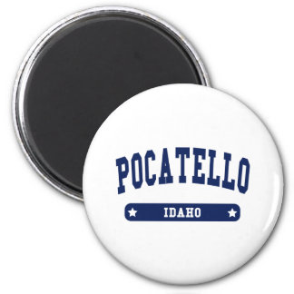 Pocatello Idaho College Style tee shirts 6 Cm Round Magnet