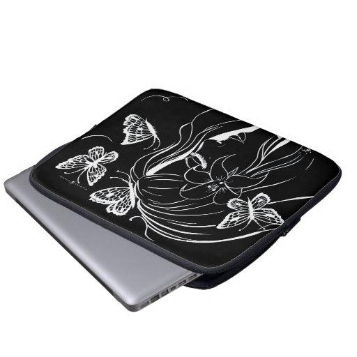 pochette pc portable serenity by maylusinn computer sleeve. Black Bedroom Furniture Sets. Home Design Ideas