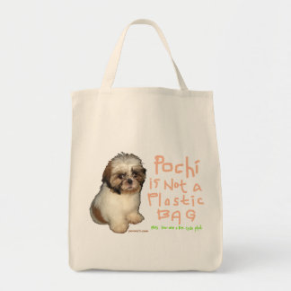 Pochi is not a Plasticbag Tote Bag