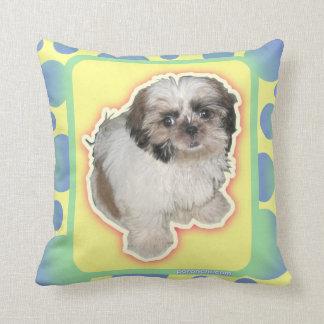 Pochi pillows - bubbles & puppy eyes throw cushions