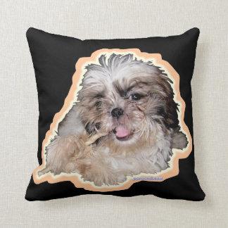 Pochi pillows - flute & not a plastic bag throw cushions