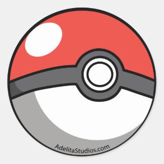 Pockeball Classic Round Sticker