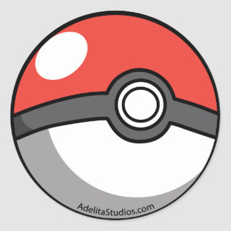 Pockeball Round Sticker