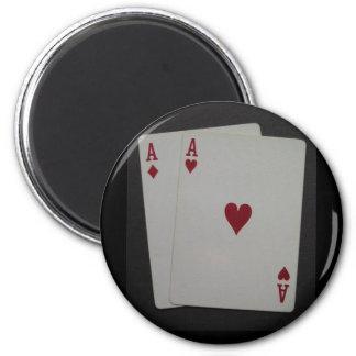 pocket A's Fridge Magnets
