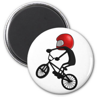 Pocket BMX Pose 6 Cm Round Magnet