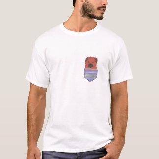 Pocket Border Terrier T-Shirt