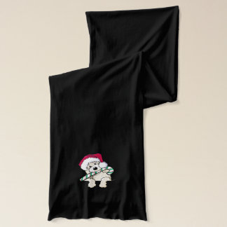 Pocket Christmas Doodle Scarf